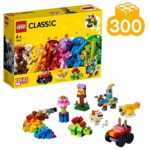 LEGO 11002 Classic Basic Brick Set with Wheels and Eyes for Kids 4+ Years Old