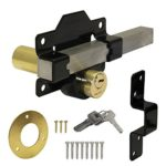 """Double Locking Long Throw """"Cays"""" Lock 50mm"""