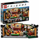 LEGO 21319 Ideas Central Perk Friends TV Show Series Collectors Set with Iconic Cafe Studio and 7 Designed for September 2019 Mini Figures