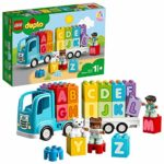 LEGO 10915 DUPLO My First Alphabet Truck Toy for Toddlers 1.5 Year Old