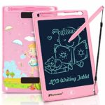 PROGRACE LCD Writing Tablet for Kids Learning Writing Board LCD Writing Pad Smart Doodle Drawing Board Portable Electronics Digital Handwriting Pads 8.5 Inch