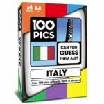 100 PICS Italy Quiz Game - Educational Travel Trivia Flash Card Puzzle Games for Smart Kids