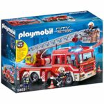 Playmobil City Action 9463 Fire Ladder Unit With Light and Sound for Children Ages 4+