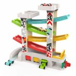 TOP BRIGHT Car Ramp Toy for 1 2 Year Old Boy Gifts Birthday Presents