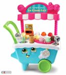 LeapFrog 600703 Scoop & Learn Pretend Toddler Toy for Role Play Food and Magic Ice Cream Scooper Scoop/Learn Cart Set