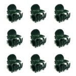 KINGLAKE 100 PCS Plant Support Clips Garden Clips Flower Orchid Stem Clips for Orchid Support
