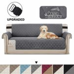 BellaHills Sofa Protectors Waterproof from Pets/Dogs/Kids Sofa Covers 3 Seater Couch Covers Furniture Protector Covers Soft Quilted with Non Slip Strap Seat Width: 66"