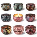 Arosky Set of 9 Scented Candle Gift Set