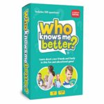 The Social Store - Who Knows Me Better? | Kids & Family Card Quiz Game | Fun & Educational Questions for Children & Families | Suitable For Boys & Girls 5+ Year Olds to Adult | Family Friendly: Amazon.co.uk: Toys & Games