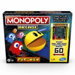 Monopoly Arcade Pac-Man Game; Monopoly Board Game for Children Aged 8 and Up; Includes Banking and Arcade Unit: Amazon.co.uk: Toys & Games