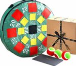 Jaques of London Target Ball GIANT XL Garden ball game - safer than lawn darts and more fun this great giant outdoor game is suitable for all ages - Quality Garden Games since 1795: Amazon.co.uk: Sports & Outdoors