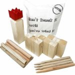 Kubb Throwing Game Full Height Viking Chess Outdoor Game in a Handy Carry Bag: Amazon.co.uk: Toys & Games