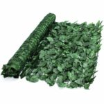 True Products S1011D Artificial Screening Ivy Leaf Hedge Panels On Roll Privacy Garden Fence 1m x 3m