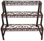 Esschert Bph33 79 x 66 x 49cm Etagere Rectangular Cast-Iron - Brown: Amazon.co.uk: Garden & Outdoors