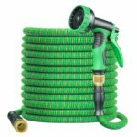 BOIROS Garden Hose Expandable 100FT Flexible Leakproof Hose Pipe with Durable Latex Core/Solid Brass Connector/9 Patterns Water Spray Gun/Kink Free Expanding Lightweight Retractable Water Hose: Amazon.co.uk: Garden & Outdoors