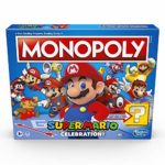 Monopoly Super Mario Celebration Edition Board Game for Super Mario Fans for Ages 8 and Up