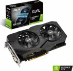 ASUS Dual GeForce GTX 1660 EVO 6GB OC Edition GDDR5 Gaming Graphics Card with Two Powerful Axial-tech Fans (DUAL-GTX1660-O6G-EVO): Amazon.co.uk: Computers & Accessories