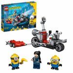 LEGO 75549 Minions Unstoppable Bike Chase Toy with Gru