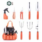 Upgrade 10 Pieces Garden Tools Set