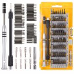Hi-Spec 60 Piece Precision Bits & Screwdriver Handle Set for Repair of Android Mobile Cell Phones