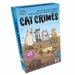 ThinkFun Cat Crimes Game of Reflection and Logic