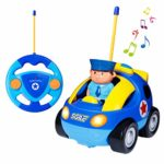 SGILE Remote Control Car for Toddlers with Sound and Light