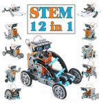 TOYSTD Boy Toys 8-12 Year Old STEM Robot Science Kit 12-in-1 Education Solar Robot Toys -199 Pieces DIY Building Toy for Kids: Amazon.co.uk: Toys & Games