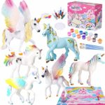 Unicorn Gift for Girls Unicorn Painting Kit Paint Your Own Unicorn Figures Unicorn Toys Crafts and Art Supplies Creative Birthday Christmas Craft Gift for Kids Girls Boys 4 5 6 7 8 9 Years Old: Amazon.co.uk: Toys & Games