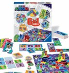 Ravensburger 21341 PJ Masks-6 in 1 Set for Kids & Families Age 3 Years and Up-Includes 6 Classic Games: Bingo