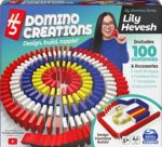 Spin Master Games H5 Domino Creations 100-Piece Set by Lily Hevesh