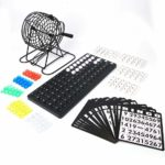 Cafopgrill Traditional Bingo Game Set