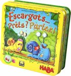 HABA Esgargots... Prêt Partez 304027 2-4 Players Age 5 to 99 Wooden Magnetic Snail Racing and Dice Game: Amazon.co.uk: Toys & Games