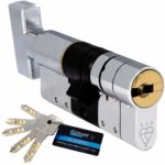 Schlosser Technik 3 Star High Security Euro Cylinder - TS007 - Sold Secure Diamond Secured by Design Police Approved (50T/45): Amazon.co.uk: DIY & Tools