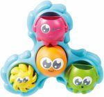 TOMY E72820C Spin & Splash Toomies Octopus Bath Toy for Water Play Suitable for 1