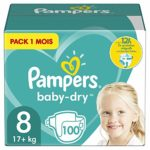 Pampers Size 8 Baby-Dry Nappies