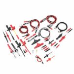 18 in 1 Pluggable Multimeter Probe Test Lead Kits Professional Upgraded BNC Test Cable Probe Test Hook Kit with Replaceable Precision Sharp Multimeter Probes