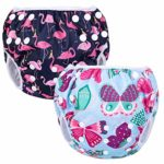 Luxja Swimming Nappy Reusable (Pack of 2)