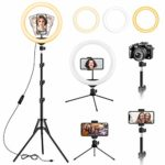 13 inch Ring Light with Tripod and Desk Stand