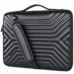 """DOMISO 17 Inch Shockproof Waterproof Laptop Sleeve with Strap Lightweight Soft EVA Tablet Protective Case Bag for 17-17.3"""" Notebook/Dell/Lenovo/Acer/HP/MSI/ASUS"""