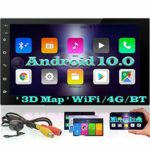 EINCAR Android 10.0 Car Stereo bluetooth GPS Navigation double 2 din Head Unit Car Radio Video Player in dash 7 inch Touch Screen 4G/WiFi OBD2 Phone Link SWC 1080P Free Rear Camera