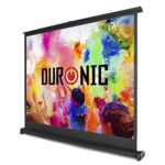 "Duronic DPS50/43 Portable Desktop 50"" Projection Screen For 