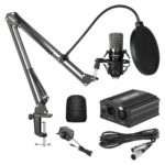 Neewer NW-700 Condenser Microphone Kit - Black Mic