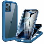 Miracase Glass Case Compatible with iPhone 12 Pro Max