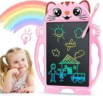 Kids Toys LCD Writing Board - Gifts for Girls & Boys Colorful Drawing Tablet for Kids