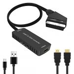 SCART to HDMI Converter with HDMI Cable