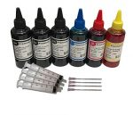BVH Direct 6 x 100ml Black Cyan Magenta Yellow Bottled Compatible with HP