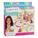 Make It Real – Neo-Brite Chains & Charms. Bracelet Making Kit for Girls and Tweens to Create Unique Bracelets
