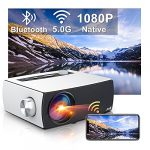 Artlii Enjoy 3 Native 1080p Projector Wifi Bluetooth Full HD 1920 x 1080 Portable Home Video Projector 5G Wifi 75% Zoom Dolby for TV Stick Android iOS Smartphone PS4 PS5