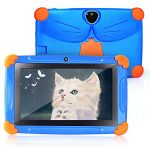 Kids Tablet 7 Inch Tablet for Kids CARRVAS Quad Core Andriod 8.1 1GB RAM 16GB ROM Toddler Edition Tablet GMS Certificated with Dual Cameras Kids Software Learning Tablets Parent Control Mode