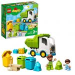 LEGO 10945 DUPLO Town Garbage Truck and Recycling Educational Toy for 2 Year Olds